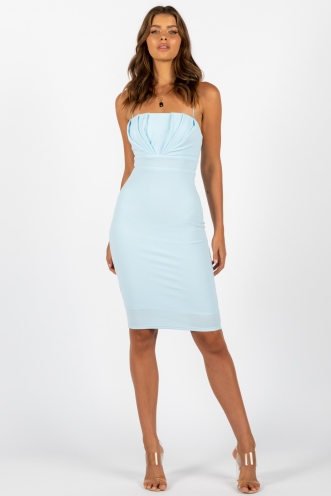 Racquel Dress Blue