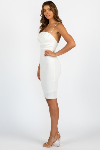 Racquel Dress White