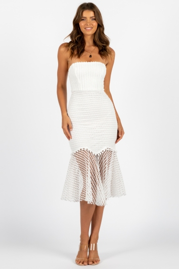 Harvest Moon Dress White