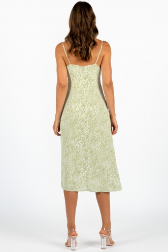 Youngblood Dress Green Print