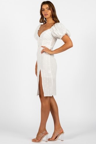Temple Of Love Dress White
