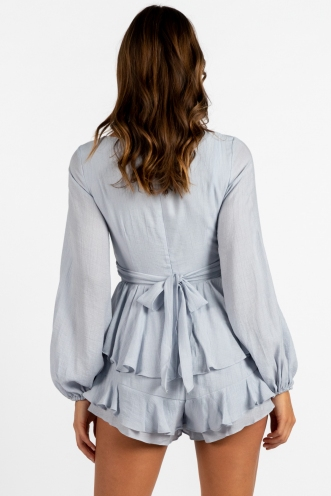Elayna Playsuit Grey