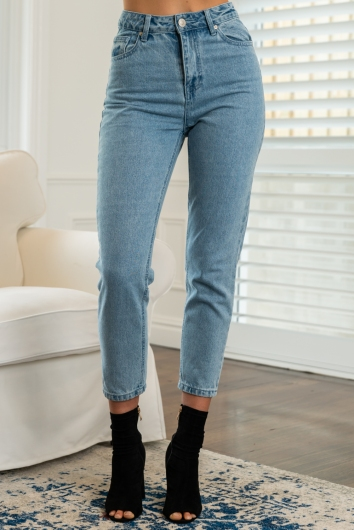 Claire Jeans Mid Wash