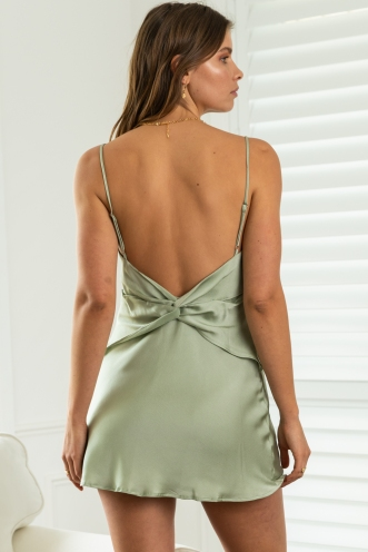 Stirling Dress Green
