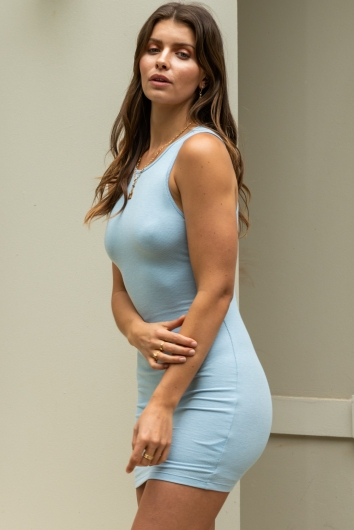 Sporty Spice Dress Blue
