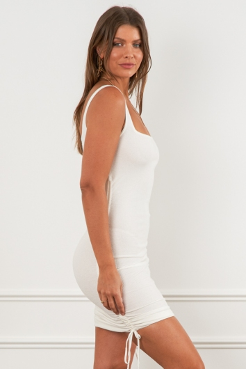 Barely There Dress White