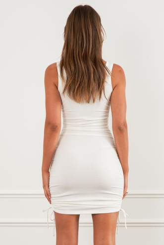 Lumen Dress White