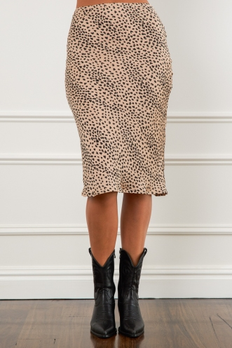Aleesha Skirt Cheetah Print