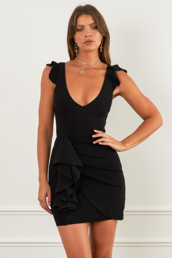 Tammy Ray Dress Black