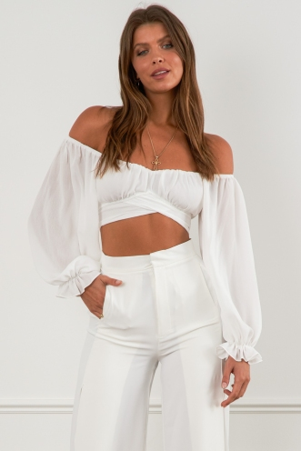 Azores Top White