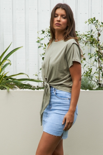 Jocelyn Top Khaki