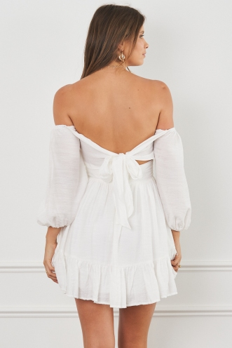Summertime Sadness Dress White