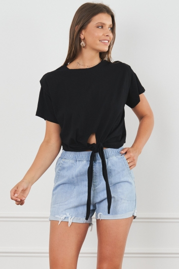 Jocelyn Top Black