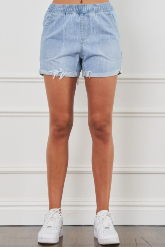 Love Light Shorts Light Denim