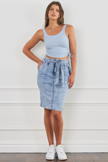 Sunday Dreaming Top Blue