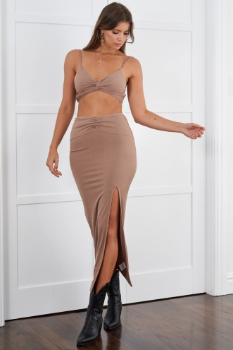 North Skirt Mocha