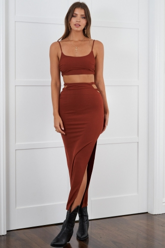 Carline Skirt Rust