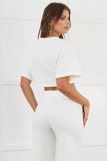 Tully Top White