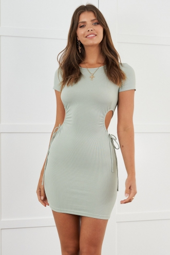 Becca Dress Khaki