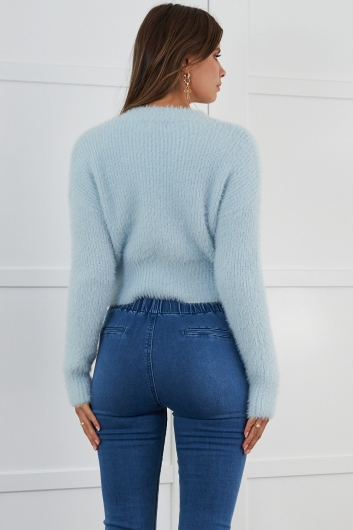 Kandy Knitted Jumper Blue