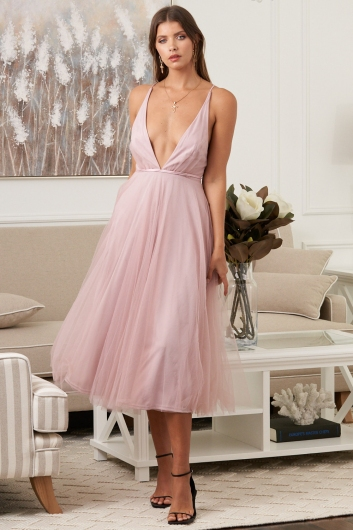 Girl From Mars Dress Pink