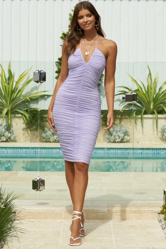 Lady Love Dress Lilac