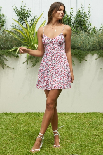 Lose Your Love Dress Pink Floral