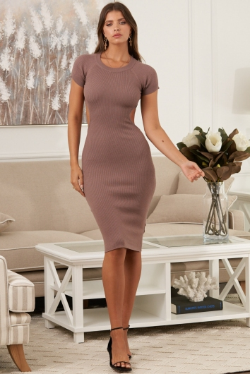 Tamara Dress Brown