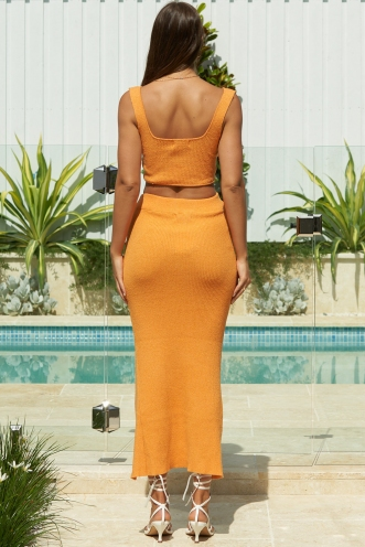 Someone To Hold Skirt Orange