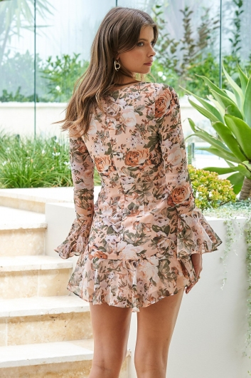 Another Day Dress Nude Multi