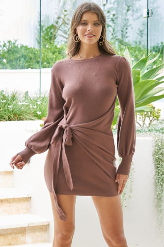 Mish Dress Brown