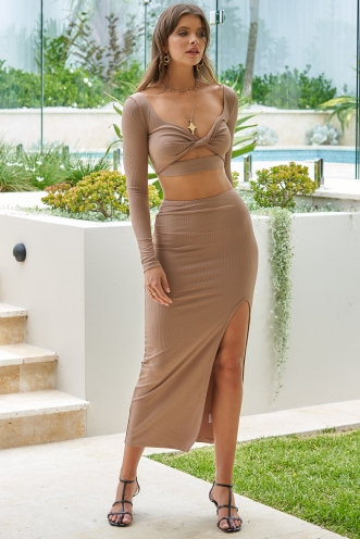 Untamed Skirt Beige