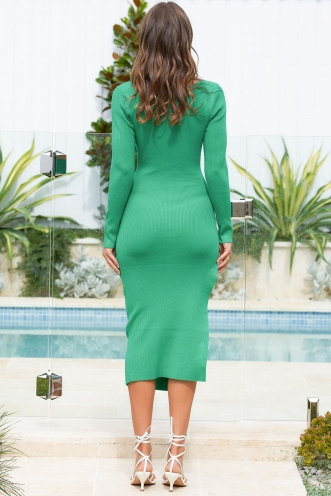 Patty Dress Green
