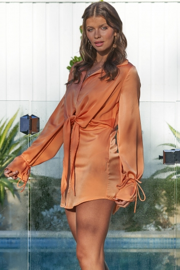 The Only One Dress Orange