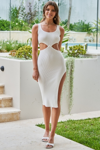 Baily Dress White
