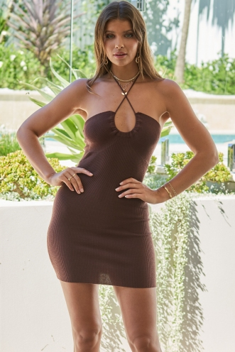 Revolution Dress Brown