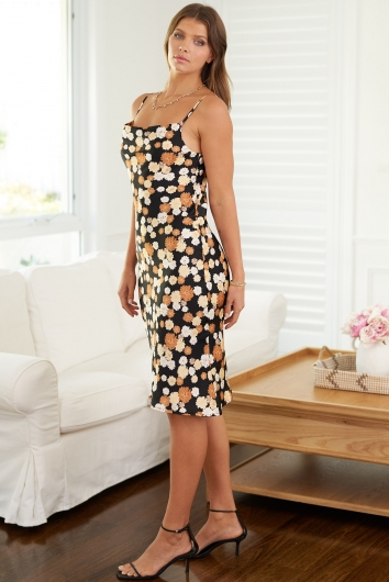 Claws Out Dress Black Print