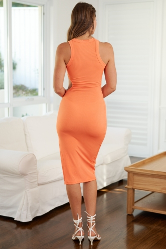 Think Of Me Dress Orange