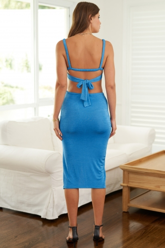 Pamela Dress Blue