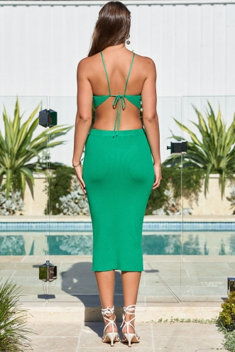 Serendipity Dress Green