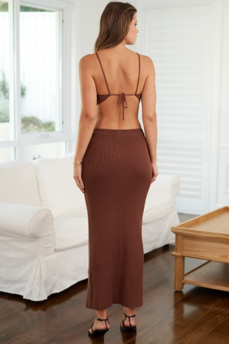 Jordyn Dress Brown
