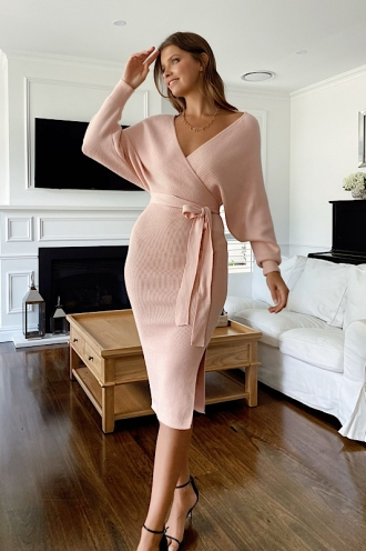 Genny Dress Pink