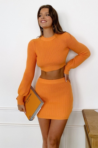 Alissa Jumper Orange