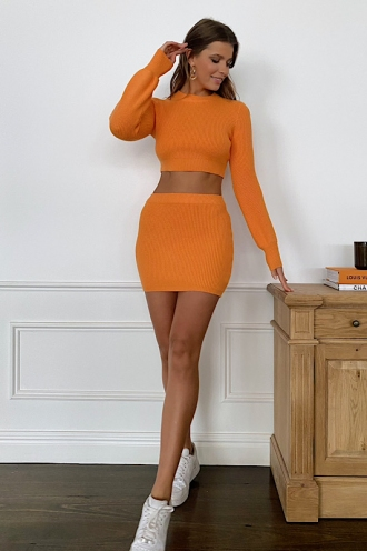 Alissa Skirt Orange
