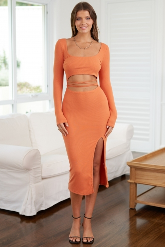 Made In Paris Dress Orange