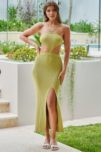Jordyn Dress Green