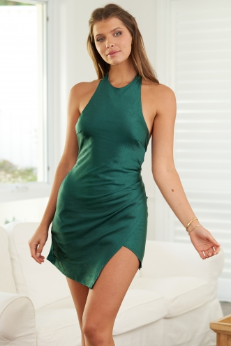 Della Dress Green