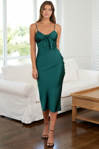 Arlo Dress Green