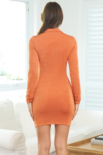 Terry Dress Orange