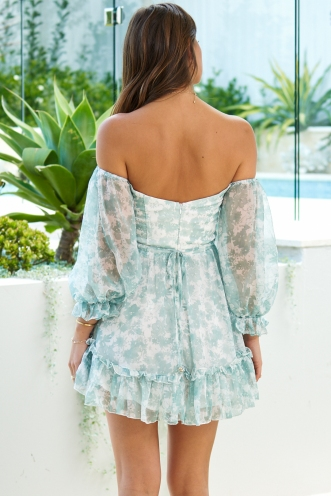Count Me In Dress Mint